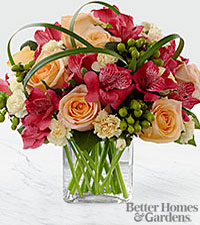 The FTD ® All Aglow™ Bouquet by Better Homes and Gardens ® - VASE INCLUDED