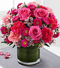The FTD ® Pink Pursuits™ Bouquet
