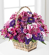 The FTD ® Brilliant Meadow™ Basket