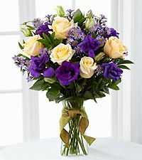 The Angelique™ Bouquet by FTD® - VASE INCLUDED