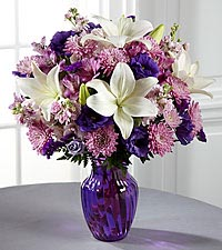 The FTD ® Shades of Purple™ Bouquet