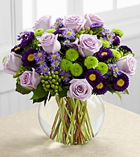 Le bouquet A Splendid Day<sup>&trade;</sup> de FTD� - VASE INCLUS