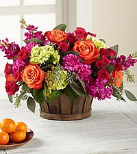 New Sunrise™ Bouquet - BASKET INCLUDED