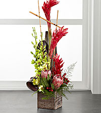 The FTD ® Tropical Bright™ Arrangement