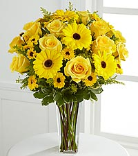 The Daylight™ Bouquet by FTD ® - VASE INCLUDED