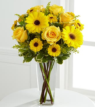 The Daylight&trade; Bouquet by FTD&reg; - VASE INCLUDED