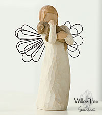 The Willow Tree ® Angel of Friendship Figurine