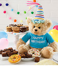 Mrs. Fields ® Happy Birthday Bear with Cookies