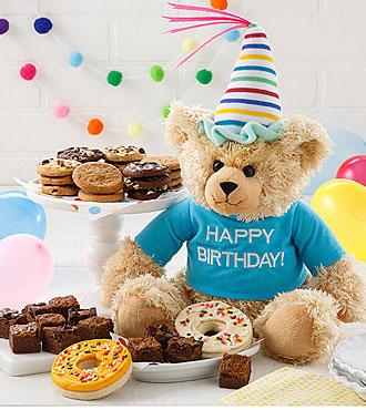 Mrs. Fields� Happy Birthday Bear