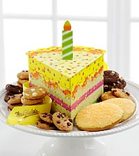 Mrs. Fields&reg; Slice of Birthday Cake
