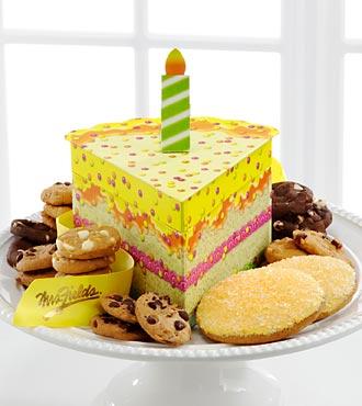 Mrs. Fields Slice of Birthday Cake