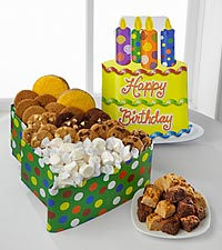 Mrs. Fields® Happy Birthday Cake Box