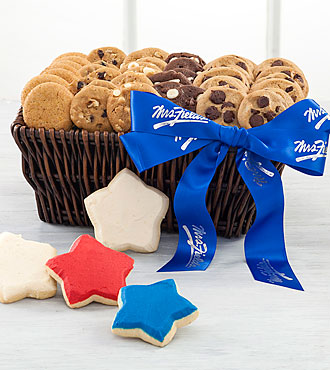 Mrs. Fields® Stars & Bites Forever Basket