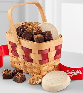 Mrs. Fields Sweet and Simple Basket - GOOD