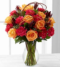 Le bouquet Happiness<sup>&trade;</sup> de FTD� - VASE INCLUS