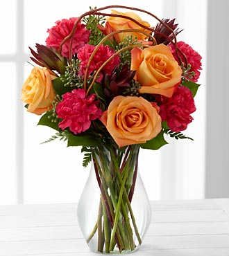 The Happiness&trade; Bouquet by FTD&reg; - VASE INCLUDED