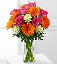 The FTD&reg; Pure Bliss&trade; Bouquet - VASE INCLUDED