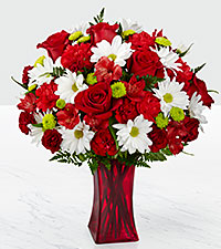 The FTD ® Cherry Sweet Bouquet - VASE INCLUDED