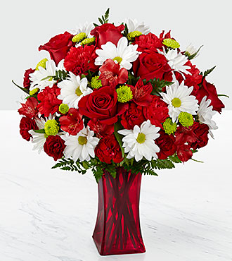 The FTD Cherry Sweet Bouquet - VASE INCLUDED