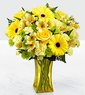 The FTD� Lemon Groove Bouquet