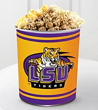 Louisiana State University® Tigers™ Popcorn Tin - 1 Gallon