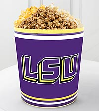 Louisiana State University&reg; Tigers&trade; Popcorn Tin - 3 Gallon