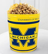 University of Michigan&trade; Wolverines&trade; Popcorn Tin - 3 Gallon