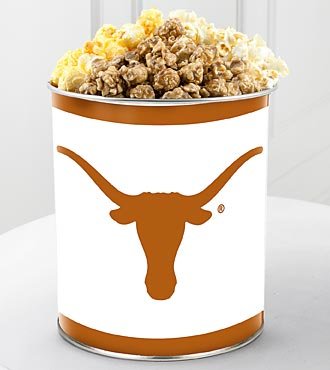 University of Texas® Longhorns® Popcorn Tin - 1 Gallon