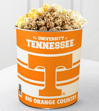 University of Tennessee® Vols® Popcorn Tin - 1 Gallon