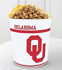 University of Oklahoma ® Sooners ® Popcorn Tin - 3 Gallon
