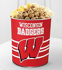 University of Wisconsin Badgers&trade; Popcorn Tin - 1 Gallon