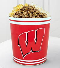 University of Wisconsin Badgers&trade; Popcorn Tin - 3 Gallon