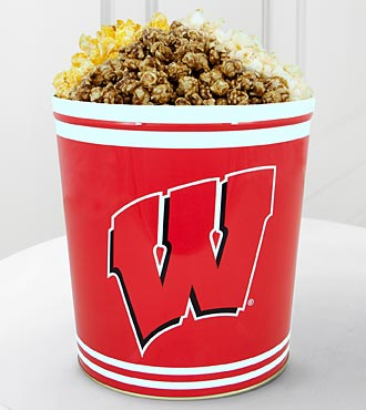 University of Wisconsin Badgers™ Popcorn Tin - 3 Gallon