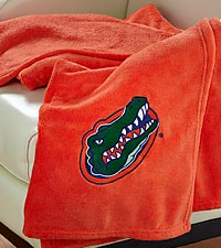 University of Florida® Gators® Fleece Throw