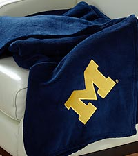 University of Michigan&trade; Wolverines&trade; Fleece Throw