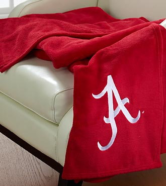 University of Alabama&reg; Crimson Tide&reg; Fleece Throw