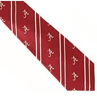 University of Alabama&reg; Crimson Tide&reg; Woven Silk Tie