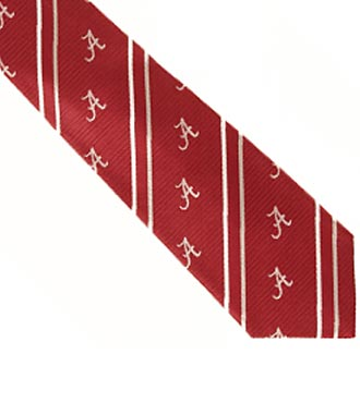 University of Alabama® Crimson Tide® Woven Silk Tie
