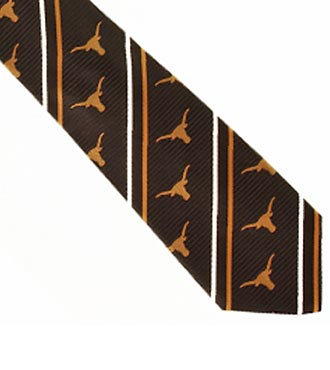 University of Texas® Longhorns® Woven Silk Tie