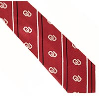 University of Oklahoma ® Sooners ® Woven Silk Tie