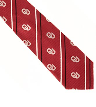 University of Oklahoma® Sooners® Woven Silk Tie