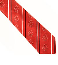 University of Wisconsin Badgers&trade; Woven Silk Tie