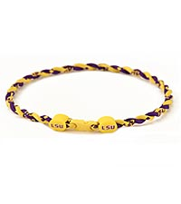 Louisiana State University&reg; Tigers&trade; Titanium Sport Necklace