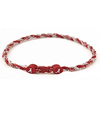 University of Alabama®; Crimson Tide® Titanium Sport Necklace
