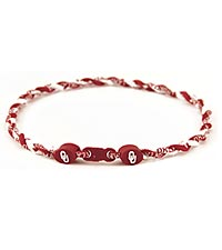 University of Oklahoma ® Sooners ® Titanium Sport Necklace