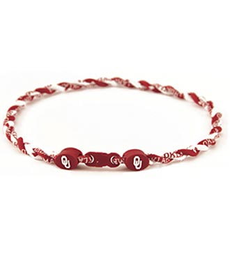 University of Oklahoma&reg; Sooners&reg; Titanium Sport Necklace