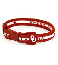 University of Oklahoma&reg; Sooners&reg; Titanium Sport Bracelet