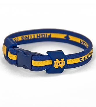 Notre Dame® Fighting Irish™ Titanium Sport Bracelet