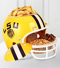 Louisiana State University® Tigers™ Football Snack Helmet