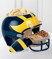 University of Michigan&trade; Wolverines&trade; Football Snack Helmet